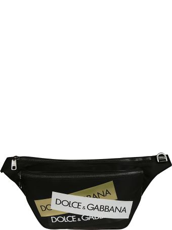 Dolce & Gabbana Logo Patch Belt Bag
