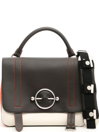 J.W. Anderson Tricolor Disc Satchel Bag