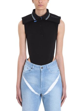 Y/Project Sleeveless Cotton Piqu? Bodysuit