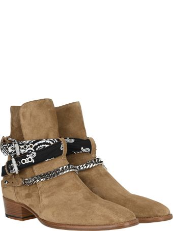 AMIRI Bandana Buckle Boot