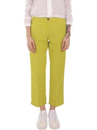 Massimo Alba Green Sparus Trousers