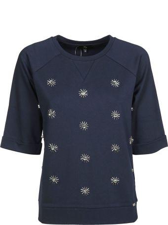 Fay Jewel Applique Sweatshirt