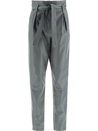 DROMe Leather Paperbag Pants