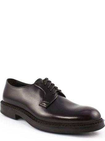 Doucal's Bordeaux Derby Shoes
