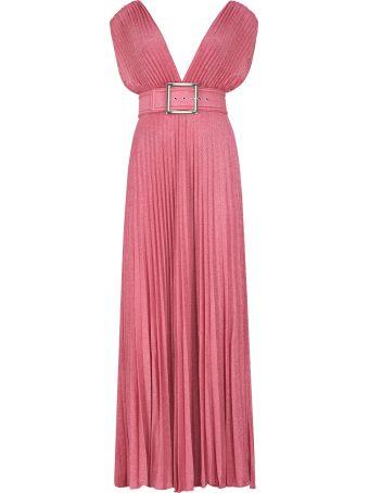 Elisabetta Franchi Celyn B. Lurex Knit Dress