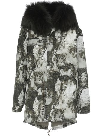 Mr & Mrs Italy Padded Fur Parka
