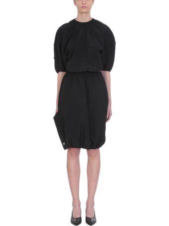 Jil Sander Puffball Sleeve Dress