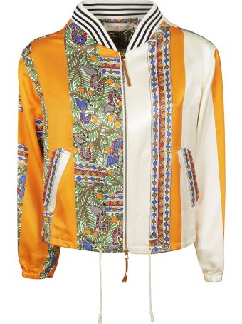Tory Burch Printed Bomber