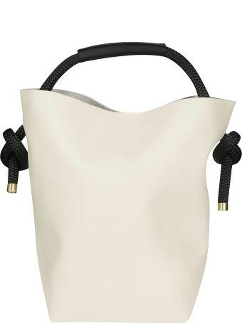 Zucca Round Handle Shopper Bag