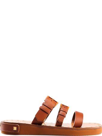 Valentino Garavani Slide Sandal Show