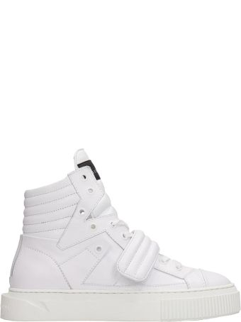 Gienchi White Leather Hypnos Sneakers