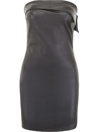 RTA Leather Dress