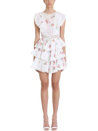 Zimmermann Heathers Pintuck Frill Dress