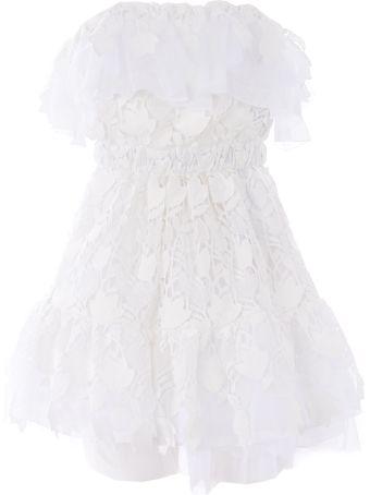Dondup Strapless Lace Dress