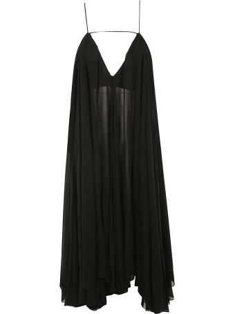 Jacquemus Sheer Pleated Dress
