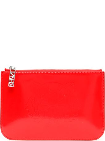 Kenzo Embossed Tiger Pouch