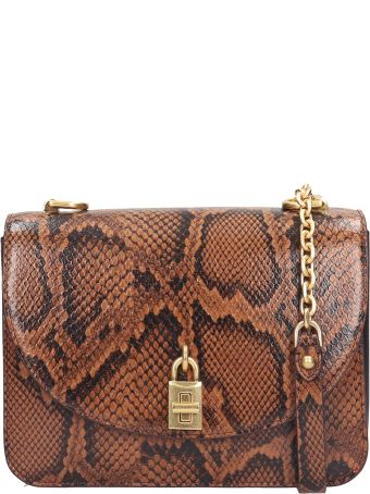 Rebecca Minkoff Love Too Shoulder Bag In Brown Leather