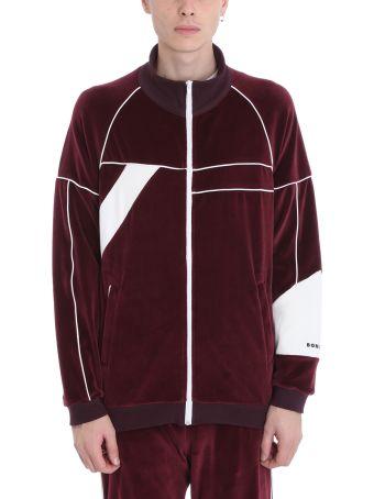 Bonsai Burgundy Velvet Sweatshirt