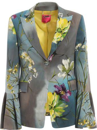 Blumarine Floral Print Blazer