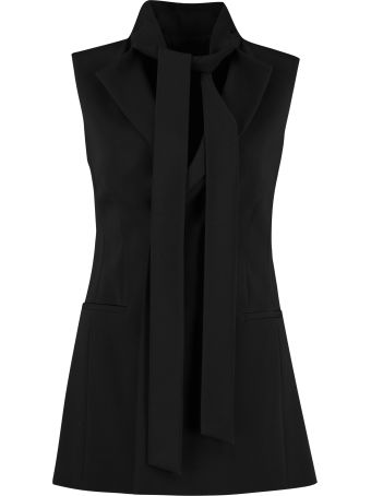 RED Valentino Belted Long Vest