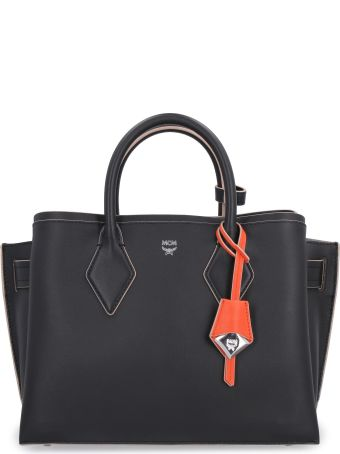 MCM Milla Leather Handbag