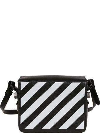 Off-White Drag Flap Shoulder Bag