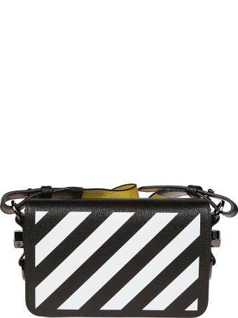 Off-White Mini Diagonal Stripe Shoulder Bag