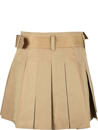 Junya Watanabe Pleated Mini Skirt