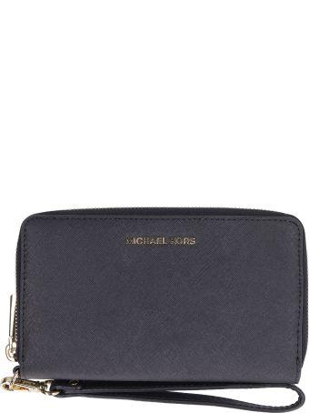 Michael Kors Saffiano Leather Continental Wristlet