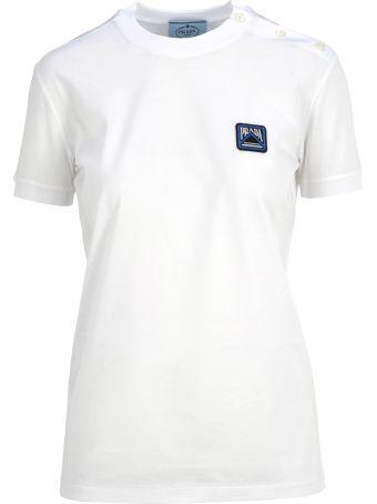 Prada White Tshirt