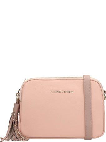 Lancaster Paris Pink Leather Ana And Annae Bag