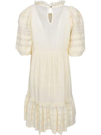 Sea Perforated Dress