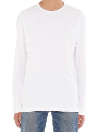 Kent & Curwen 'rose' T-shirt