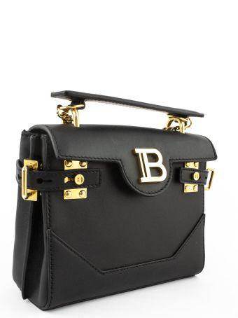 Balmain Black B-buzz 18 Backpack