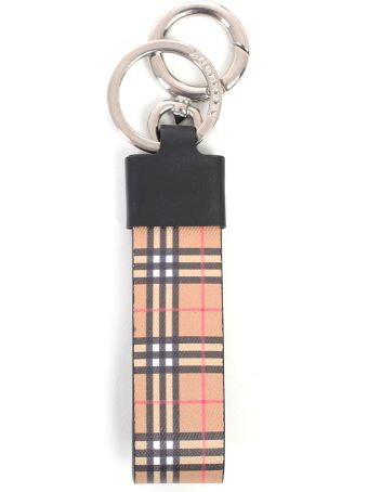 Burberry Checked Keyring