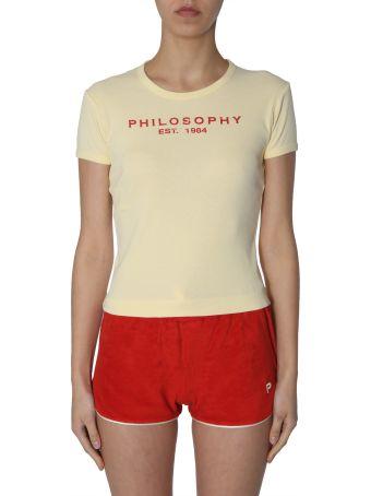 Philosophy di Lorenzo Serafini T-shirt With Logo Print