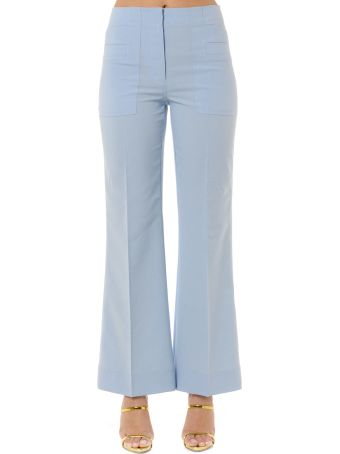 Acne Studios Light Blue Cropped Pants