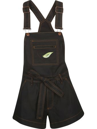 Love Moschino Belted Dungarees