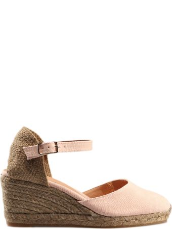 Castañer Buckled Wedge Espadrillas