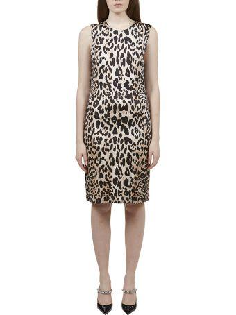 Paco Rabanne Animal Print Dress