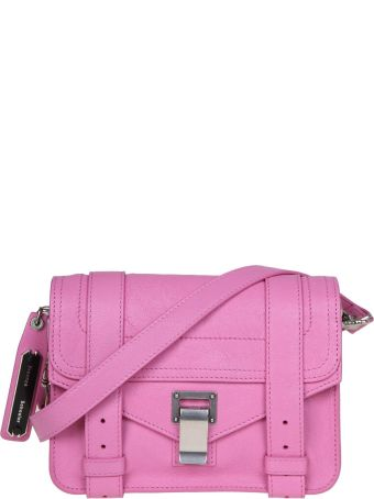 Proenza Schouler Shoulder Bag Ps1 Mini In Leather Pink