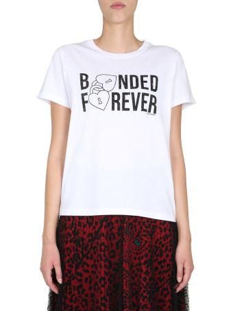 RED Valentino Round Neck T-shirt