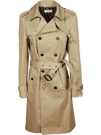 Saint Laurent Double-breasted Trench