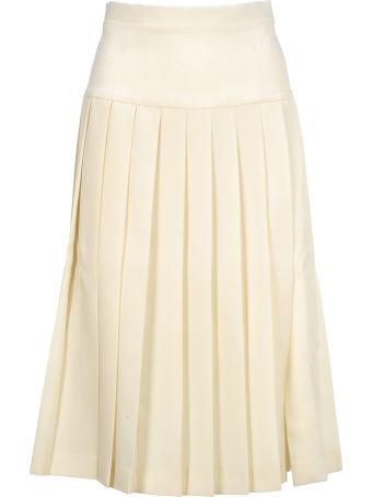 Alessandra Rich Pleates Skirt