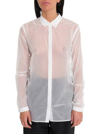 Ben Taverniti Unravel Project Zippered Oirgandie Shirt