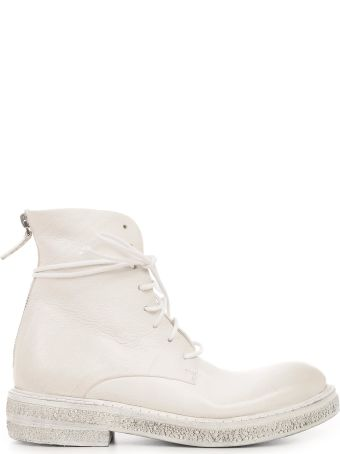 Marsell Zip Combat Boots