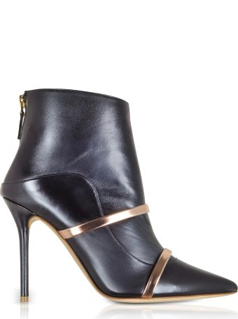 Malone Souliers Madison 100 Midnight Blue Nappa Leather Boots
