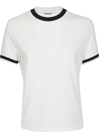 T by Alexander Wang Striped Detail T-shirt
