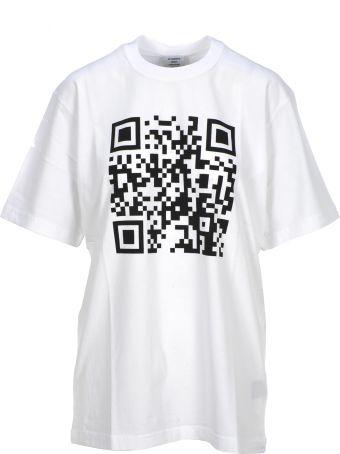 VETEMENTS Tshirt Qr Code