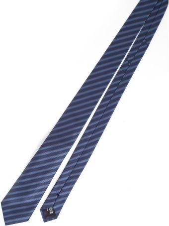 Giorgio Armani Stripe Pattern Tie